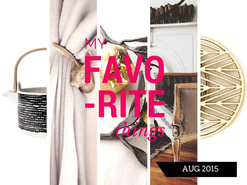 Fav Things Aug 2015 header