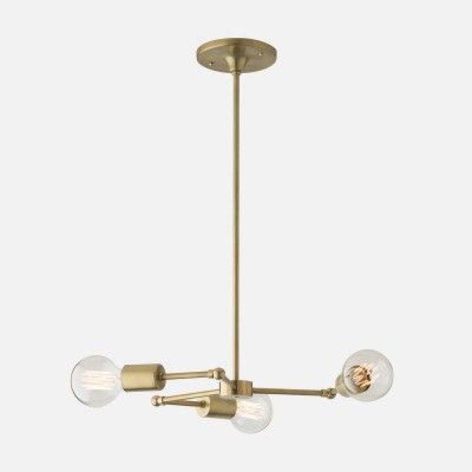 ARCTICdeco.com: Brass Chandelier