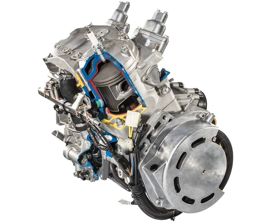 hight resolution of arctic cat c tec2 800 engine for 2018 photo at arcticinsider com
