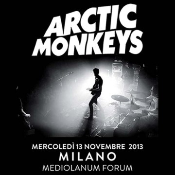 arctic monkeys milano