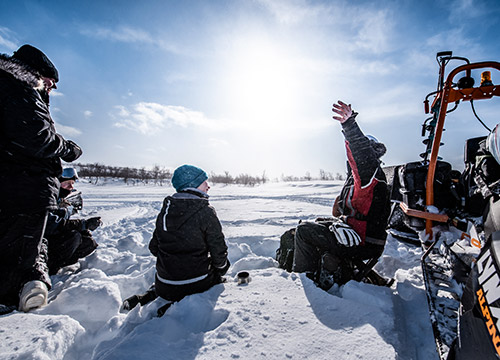 Icefishing stories