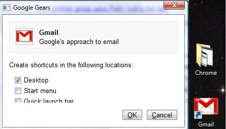 Google Chrome and Gmail