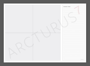 2 x 2 Matrix – Professional Quality Wallchart