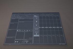 Persona Profiling & UX Mapping Desk Pad
