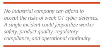 Secure Industrial Operations