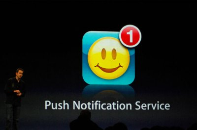 Le Notifiche Push le ha inventate Apple.... STRANO!