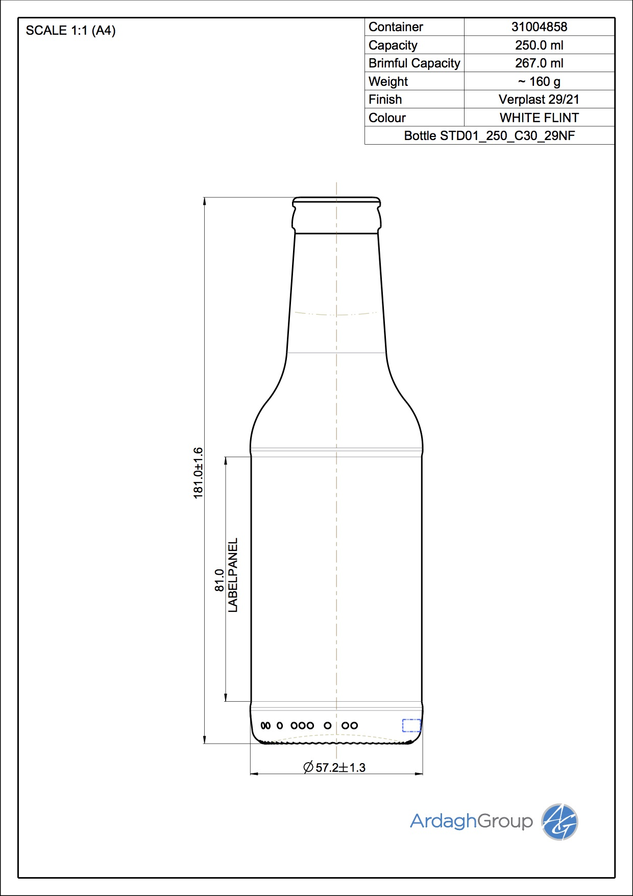 hight resolution of bottle std01 250 c30 29nf