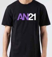 AN21 T-Shirt Crew Neck Short Sleeve Men Women Tee DJ Merchandise Ardamus.com