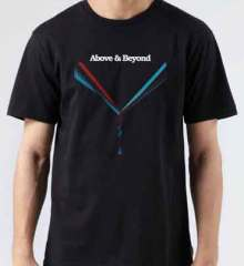 Above Beyond Love Is Not Enough T-Shirt Crew Neck Short Sleeve Men Women Tee DJ Merchandise Ardamus.com