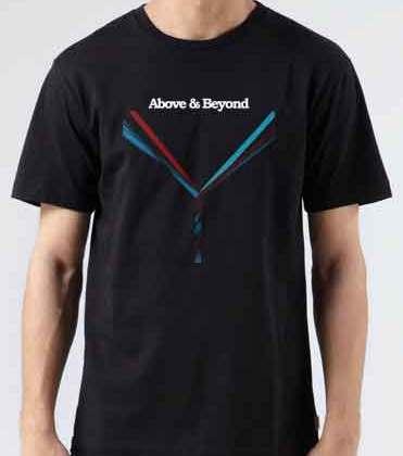 Above Beyond Love Is Not Enough T-Shirt Crew Neck Short Sleeve Men Women Tee DJ Merchandise Ardamus.com