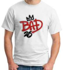 Afrojack Bad 25 T-Shirt Crew Neck Short Sleeve Men Women Tee DJ Merchandise Ardamus.com