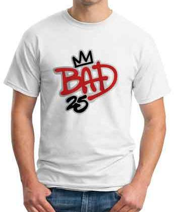 Afrojack Bad 25 T-Shirt Crew Neck Short Sleeve Men Women Tee DJ Merchandise Ardamus.com