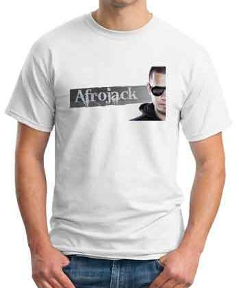 Afrojack Rock The House T-Shirt Crew Neck Short Sleeve Men Women Tee DJ Merchandise Ardamus.com