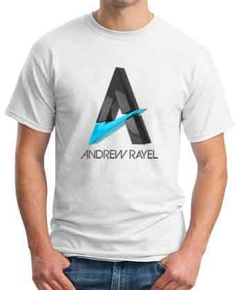 Andrew Rayel T-Shirt Crew Neck Short Sleeve Men Women Tee DJ Merchandise Ardamus.com