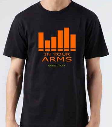 Andy Moor In Your Arms T-Shirt Crew Neck Short Sleeve Men Women Tee DJ Merchandise Ardamus.com