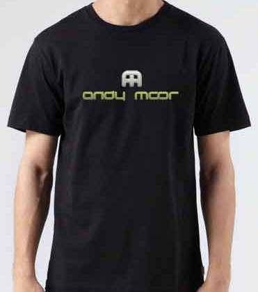 Andy Moor T-Shirt Crew Neck Short Sleeve Men Women Tee DJ Merchandise Ardamus.com