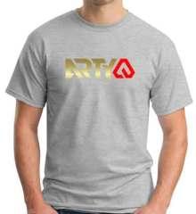 Arty Logo T-Shirt Crew Neck Short Sleeve Men Women Tee DJ Merchandise Ardamus.com