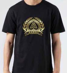 Axwell Logo T-Shirt Crew Neck Short Sleeve Men Women Tee DJ Merchandise Ardamus.com