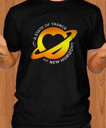 ASOT 650 T-Shirt Crew Neck Short Sleeve Men Women Tee DJ Merchandise Ardamus.com