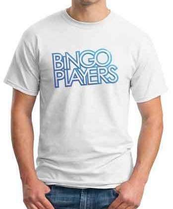 Bingo Players T-Shirt Crew Neck Short Sleeve Men Women Tee DJ Merchandise Ardamus.com