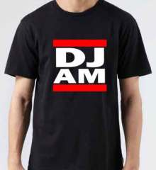 DJ AM T-Shirt Crew Neck Short Sleeve Men Women Tee DJ Merchandise Ardamus.com