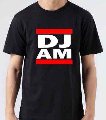 DJ AM T-Shirt Crew Neck Short Sleeve Men Women Tee DJ Merchandise Ardamus.com