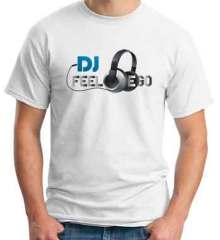 DJ Feel Ego T-Shirt Crew Neck Short Sleeve Men Women Tee DJ Merchandise Ardamus.com