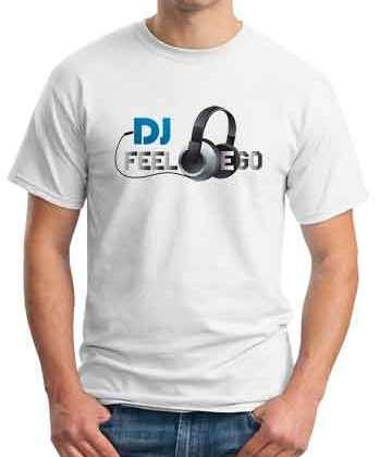 DJ Feel Ego T-Shirt Crew Neck Short Sleeve Men Women Tee DJ Merchandise Ardamus.com
