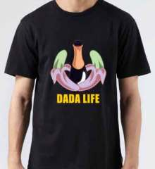 Dada Life T-Shirt Crew Neck Short Sleeve Men Women Tee DJ Merchandise Ardamus.com