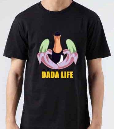 Dada Life T-Shirt Crew Neck Short Sleeve Men Women Tee DJ Merchandise Ardamus.com