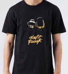 Daft Punk T-Shirt Crew Neck Short Sleeve Men Women Tee DJ Merchandise Ardamus.com