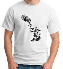 Deadmau5 Poison Bottle T-Shirt Crew Neck Short Sleeve Men Women Tee DJ Merchandise Ardamus.com