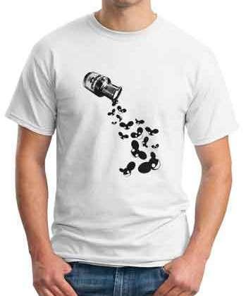 Deadmau5 Poison Bottle T-Shirt Crew Neck Short Sleeve Men Women Tee DJ Merchandise Ardamus.com
