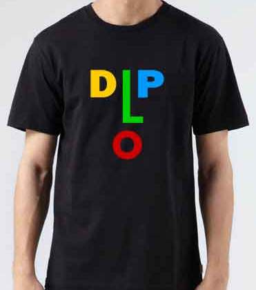 Diplo T-Shirt Crew Neck Short Sleeve Men Women Tee DJ Merchandise Ardamus.com