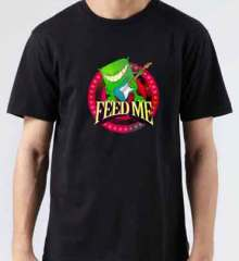 Feed Me T-Shirt Crew Neck Short Sleeve Men Women Tee DJ Merchandise Ardamus.com