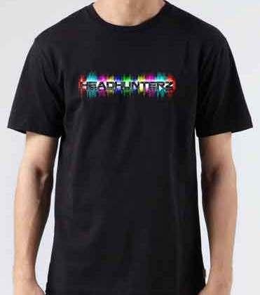 Headhunterz T-Shirt Crew Neck Short Sleeve Men Women Tee DJ Merchandise Ardamus.com