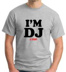 I Am DJ Z Trip T-Shirt Crew Neck Short Sleeve Men Women Tee DJ Merchandise Ardamus.com