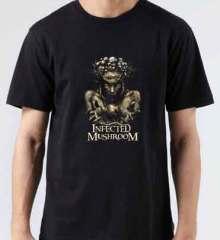 Infected Mushroom IM The Supervisor T-Shirt Crew Neck Short Sleeve Men Women Tee DJ Merchandise Ardamus.com