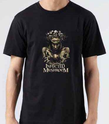 Infected Mushroom IM The Supervisor T-Shirt Crew Neck Short Sleeve Men Women Tee DJ Merchandise Ardamus.com