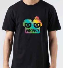 Nervo Logo T-Shirt Crew Neck Short Sleeve Men Women Tee DJ Merchandise Ardamus.com