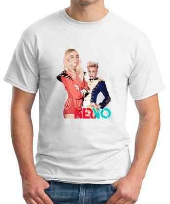 Nervo Parade Girls Destroyed T-Shirt Crew Neck Short Sleeve Men Women Tee DJ Merchandise Ardamus.com