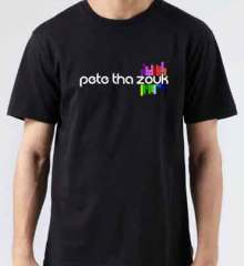 Pete Tha Zouk Logo T-Shirt Crew Neck Short Sleeve Men Women Tee DJ Merchandise Ardamus.com