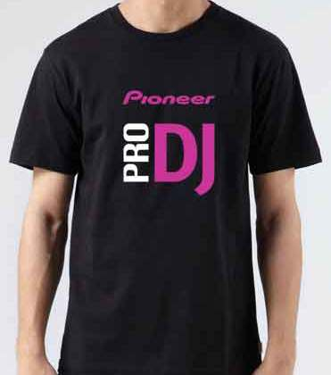 Pioneer Pro DJ T-Shirt Crew Neck Short Sleeve Men Women Tee DJ Merchandise Ardamus.com