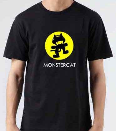 Project 46 Monstercat T-Shirt Crew Neck Short Sleeve Men Women Tee DJ Merchandise Ardamus.com