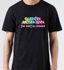 Quentin Mosimann T-Shirt Crew Neck Short Sleeve Men Women Tee DJ Merchandise Ardamus.com