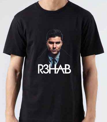 R3HAB T-Shirt Crew Neck Short Sleeve Men Women Tee DJ Merchandise Ardamus.com