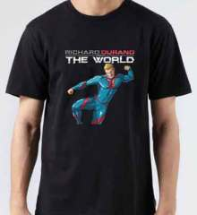 Richard Durand Vs The World Europe T-Shirt Crew Neck Short Sleeve Men Women Tee DJ Merchandise Ardamus.com