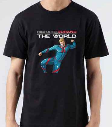 Richard Durand Vs The World Europe T-Shirt Crew Neck Short Sleeve Men Women Tee DJ Merchandise Ardamus.com