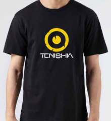 Tenishia Logo T-Shirt Crew Neck Short Sleeve Men Women Tee DJ Merchandise Ardamus.com