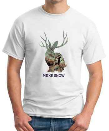 Thomas Gold Miike Snow T-Shirt Crew Neck Short Sleeve Men Women Tee DJ Merchandise Ardamus.com